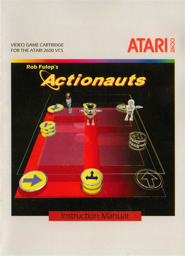 Actionauts (USA) (Proto) / Atari 2600 Roms / Downloads ...