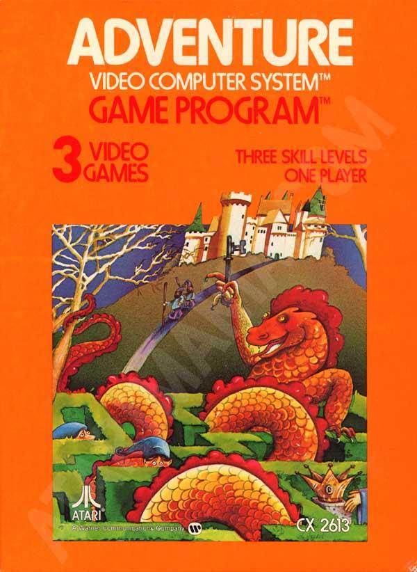 Atari 2600 VCS Adventure : scans, dump, download