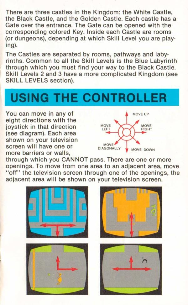 Atari 2600 Vcs Adventure Scans Dump Download