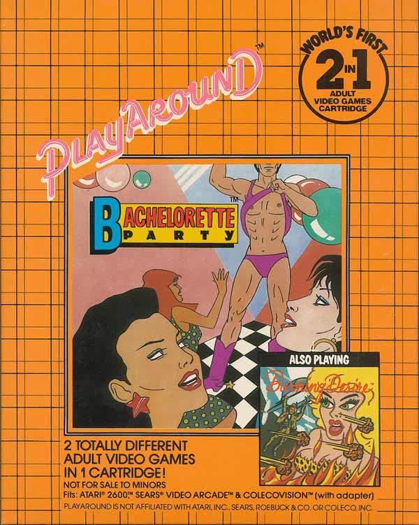 Atari 2600 VCS Bachelorette Party / Burning Desire : scans ...