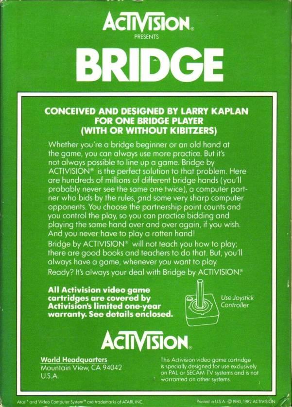 bridge card game instructions