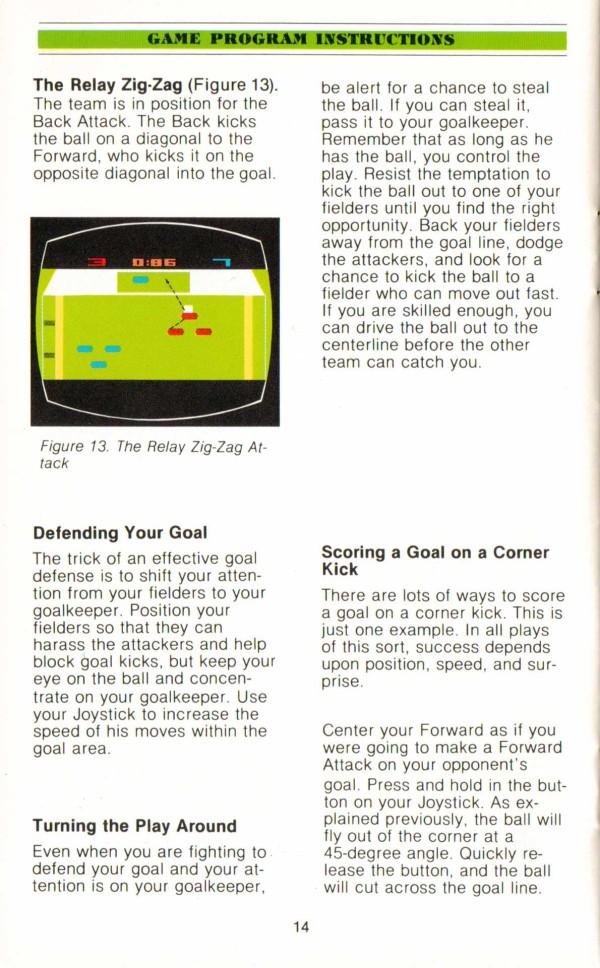 Atari 2600 VCS Championship Soccer : scans, dump, download
