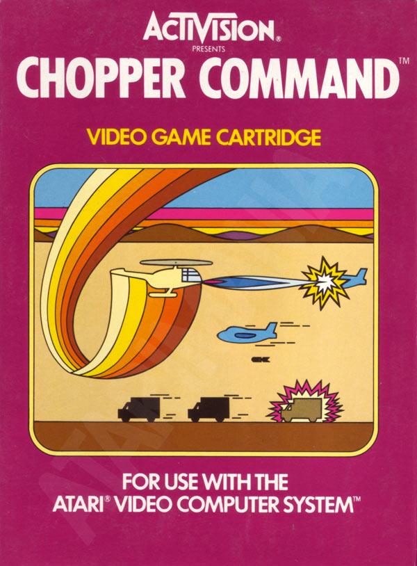 Atari 2600 Vcs Chopper Command Scans Dump Download
