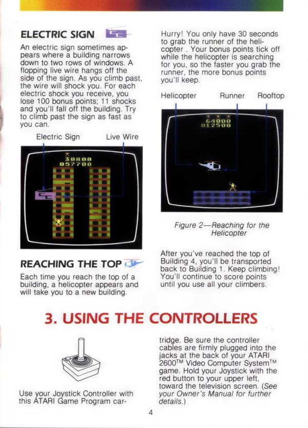 Atari 2600 Vcs Crazy Climber Scans Dump Download Screenshots