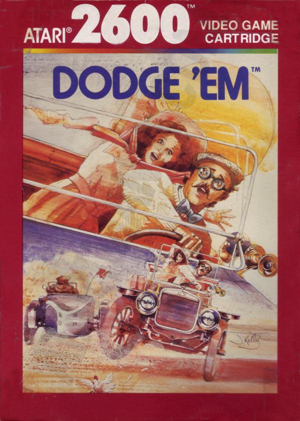 Atari 2600 VCS Dodge 'Em : scans, dump, download, screenshots, ads, videos, catalog ...