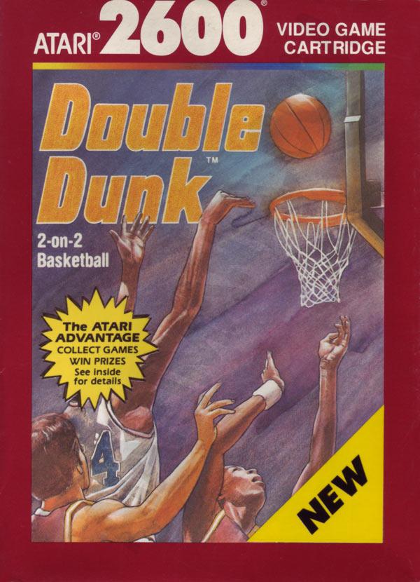 atari 2600 vcs double dunk   scans  dump  download  screenshots  ads  videos  catalog