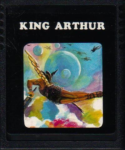 Atari 2600 Vcs Double Game Package King Arthur Lilly