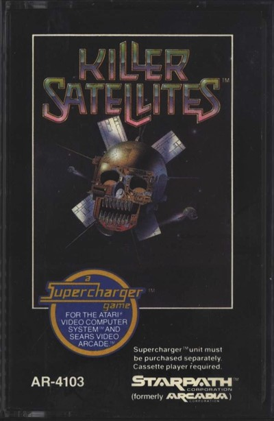 Atari 2600 VCS Killer Satellites : scans, dump, download