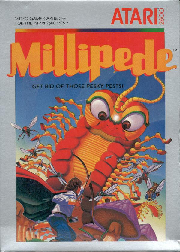 Millipede Atari 2600 Online Atari 2600 VCS Millipe...