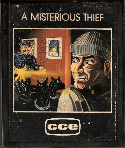 Atari 2600 Vcs Misterious Thief A Scans Dump