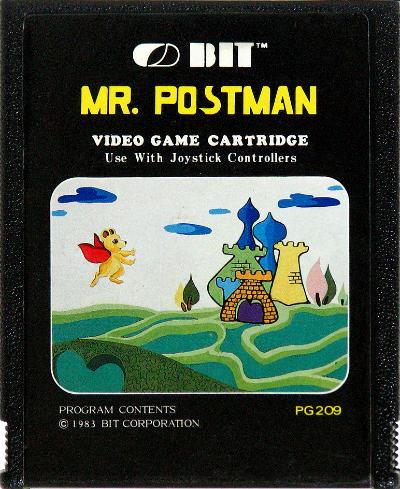 Mr. Postman do Atari 2600