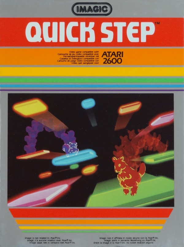 Quick Ads For Beauty Product Blusher Oneminutebriefs: Atari 2600 VCS Quick Step : Scans, Dump, Download