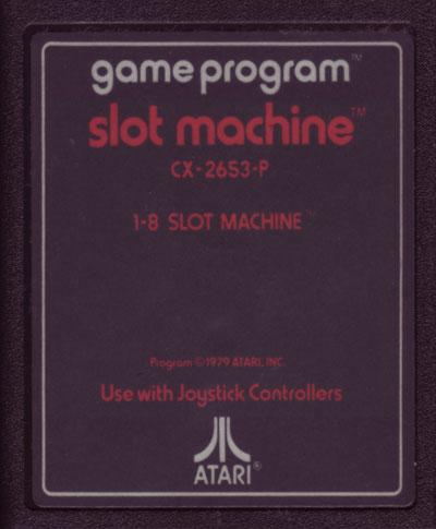 Atari slot machines american casino racing rim