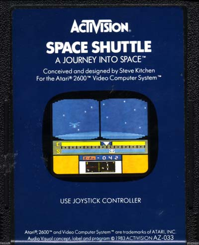 space shuttle atari 2600 - photo #13