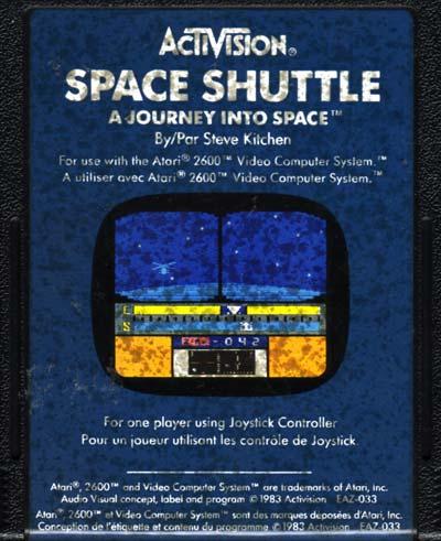 space shuttle atari 2600 - photo #26