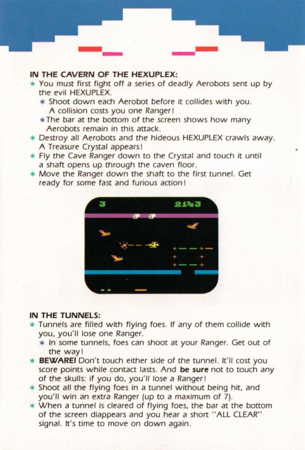 Atari 2600 VCS Subterranea : scans, dump, download