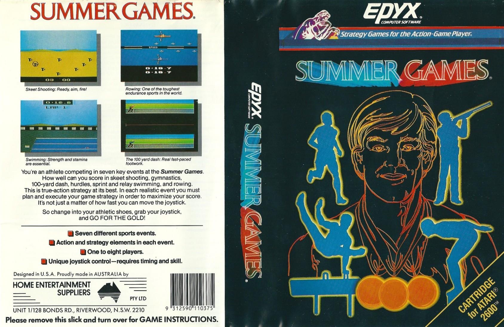Скачать Summer Games на компьютер