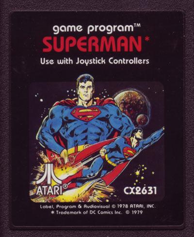 Atari 2600 Vcs Superman Scans Dump Download