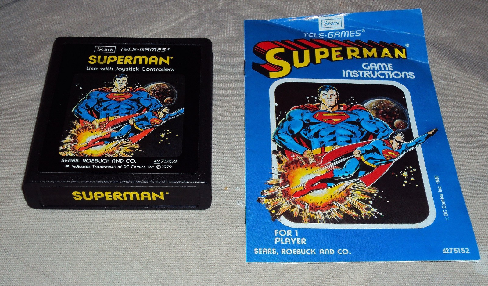 Atari 2600 Vcs Superman Scans Dump Download Screenshots Ads Videos Catalog Instructions Roms
