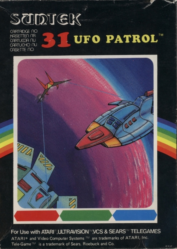 Atari 2600 Vcs Ufo Patrol Scans Dump Download