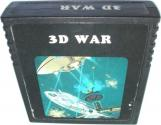 3D War Atari cartridge scan