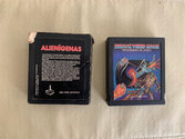 Alienígenas Atari cartridge scan