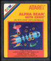 Alpha Beam with Ernie Atari cartridge scan