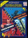 Artillery Duel / Chuck Norris Superkicks Atari cartridge scan
