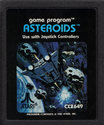 Asteroids Atari cartridge scan