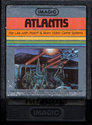 Atlantis Atari cartridge scan
