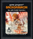 Backgammon Atari cartridge scan