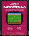 Barnstorming Atari cartridge scan