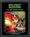 Berzerk Atari cartridge scan