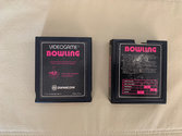 Bowling Atari cartridge scan