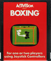 Boxing Atari cartridge scan