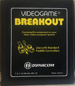 Breakout Atari cartridge scan