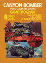 Canyon Bomber Atari cartridge scan