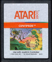 Centipede Atari cartridge scan