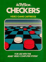 Checkers Atari cartridge scan