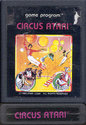 Circus Atari Atari cartridge scan
