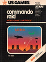 Commando Raid Atari cartridge scan