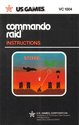 Commando Raid Atari instructions