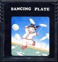 Dancing Plate Atari cartridge scan