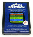 Activision Decathlon (The) Atari cartridge scan