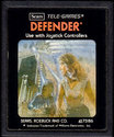Defender Atari cartridge scan