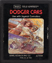 Dodger Cars Atari cartridge scan