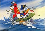Donald Duck's Speedboat Atari cartridge scan