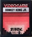 Donkey Kong Jr. Atari cartridge scan