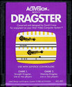 Dragster Atari cartridge scan