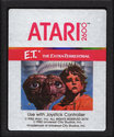 E.T. - The Extra-Terrestrial Atari cartridge scan